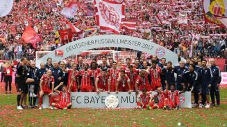 bayern 2017 league champs