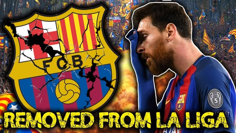 Barcelona out of the La Liga?!